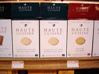 "Trend ""Simplify"": Haute Cuisine Crackers"