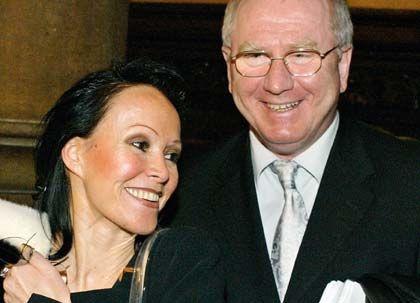 Privatier: Gerhard Schmid mit Ehefrau Sybille Schmid-Sindram