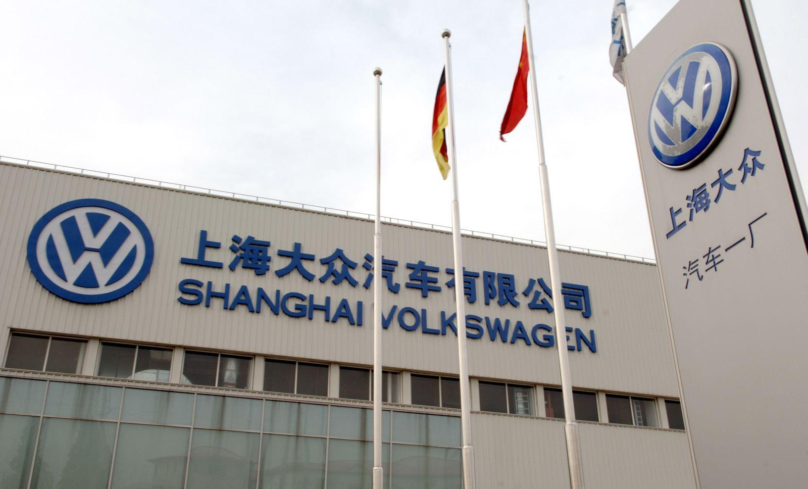 Volkswagen entwickelt Hybrid-Auto in Shanghai