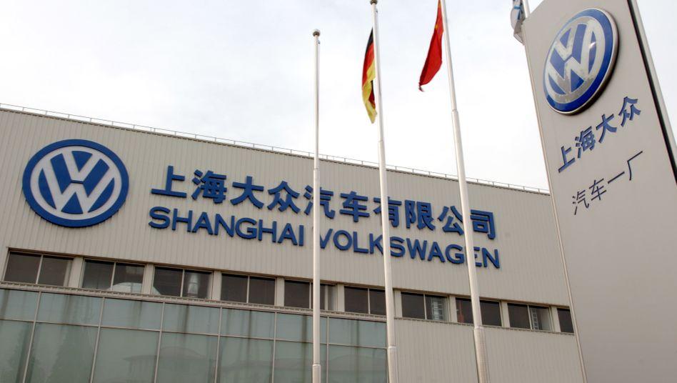 Volkswagen-Werk in Shanghai: Auch deutsche Konzerne sollen von dem Abkommen zwischen EU und China profitieren