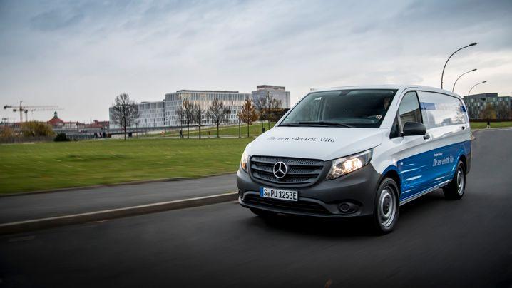 Goliath gegen David bei Elektro-Lieferwagen: Was kann Mercedes E-Vito im Vergleich zum Streetscooter?