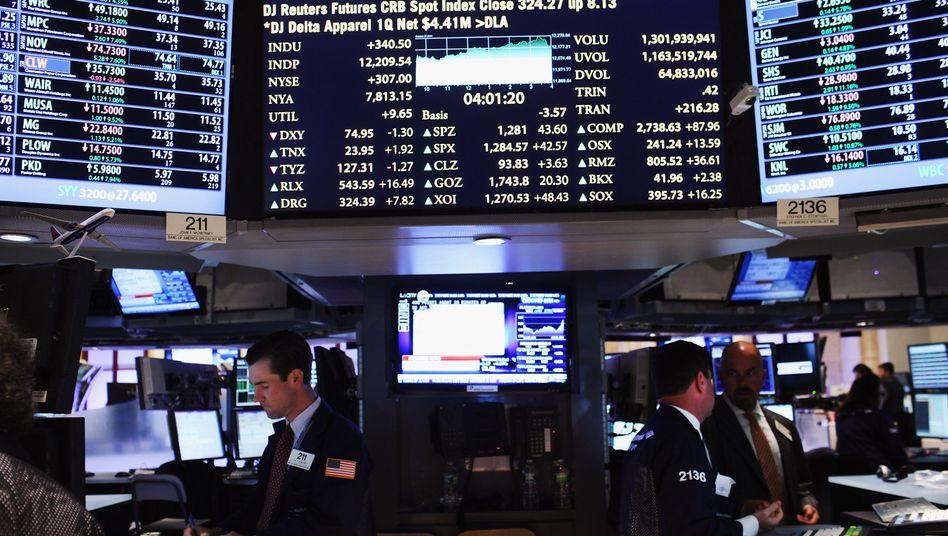 Börse in New York: Der Markt für gelistete Indexfonds wächst nicht mehr so schnell wie einst