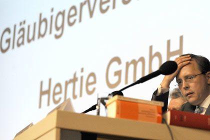 Musste Hertie-Insolvenzverfahren beenden lassen: Insolvenzverwalter Bähr erzielte keine Einigung mit Hertie-Eigentümern