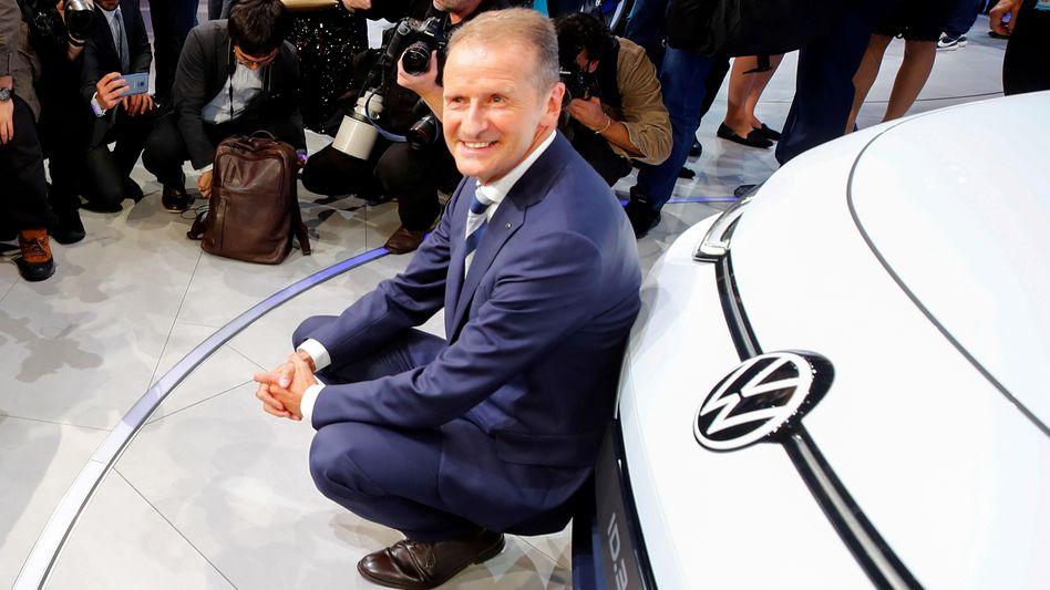 """""""Im weiteren Jahresverlauf ist noch viel von uns zu erwarten"""", verspricht Volkswagen-Chef Herbert Diess"""