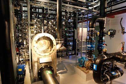 Kleine Anlage, große Pläne: Der in Tofte erzeugte Strom reicht für eine Kaffeemaschine, in Zukunft könnte die Technik den halben Energiebedarf der EU decken