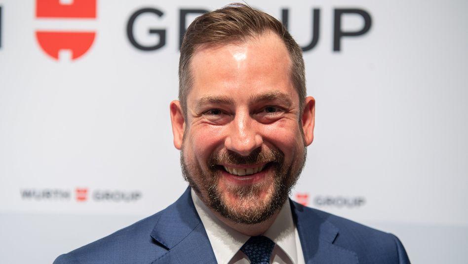 Von Schrauben zu Lebensmitteln: Der Manager Steffen Greubel ist derzeit bei der Würth-Gruppe Mitglied der Konzernführung