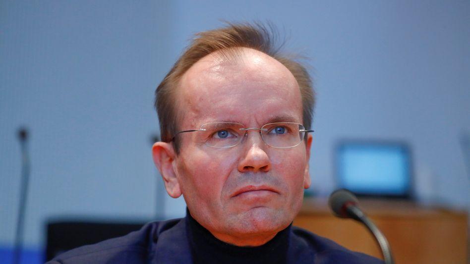 Wirecard-Manager Markus Braun im Untersuchungsausschuss des Bundestages