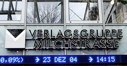Zurück auf dem Boden: Die Verlagsgruppe Milchstraße fällt an Burda