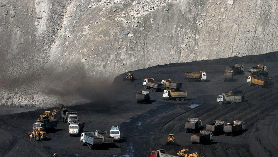 Kohleabbau in Indien: Die Nachfrage nach dem Rohstoff schwächelt