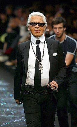 """""""Ich hasse das Wort billig. Menschen sind billig, Bekleidung ist dagegen teuer oder preiswert."""" Karl Lagerfeld, Modedesigner, zuletzt aufgefallen durch eine Kollektion für den Niedrigpreisanbieter H&M"""