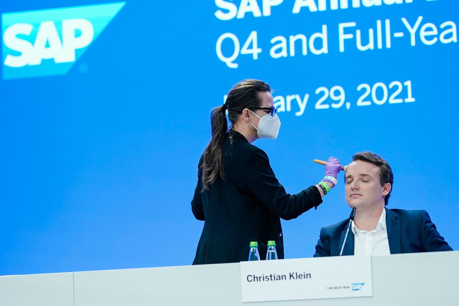 SAP Bilanzpressekonferenz