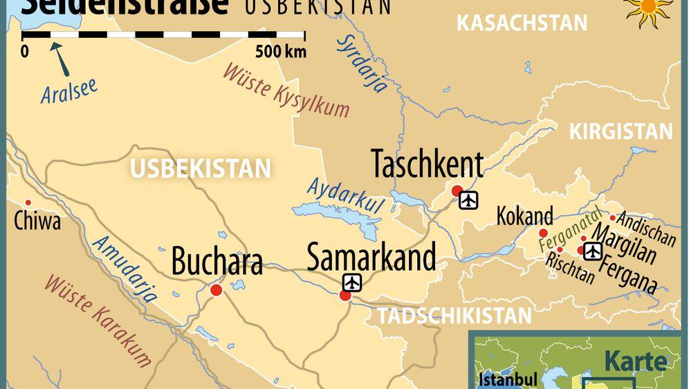 Usbekistan: Kunsthandwerk an der Seidenstraße