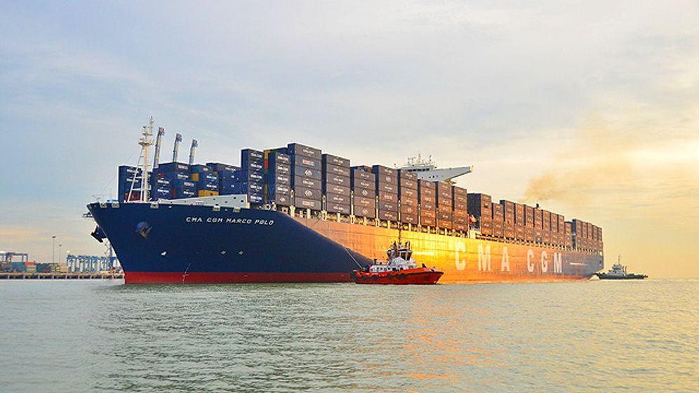 Riesen der Weltmeere: Die größten Containerschiffe