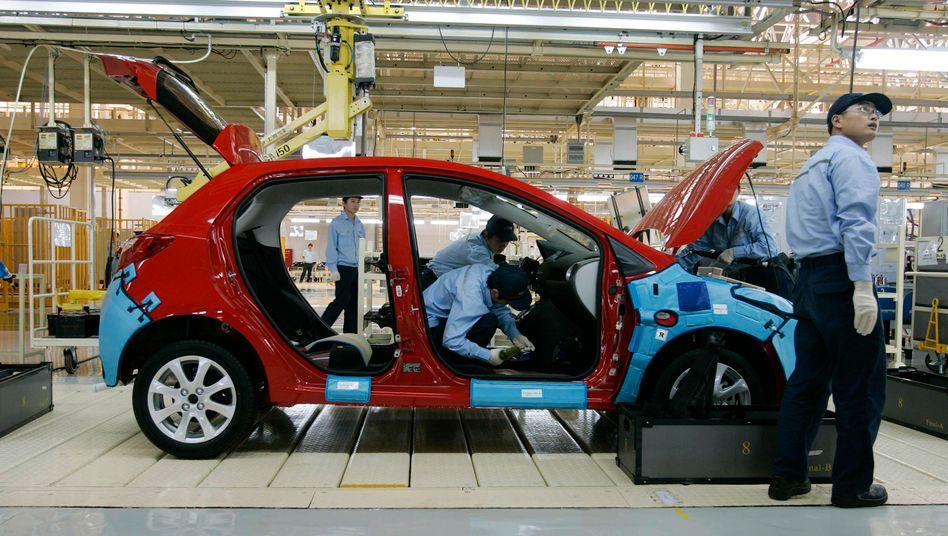Changan Ford Mazda Automobile: Autofertigung weltweit von japanischen Lieferausfällen bedroht