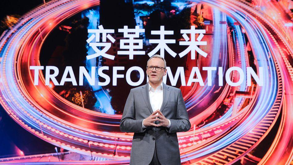 Will den VW ID.4 zum Kassenschlager machen: VWs China-Chef Stephan Wöllenstein