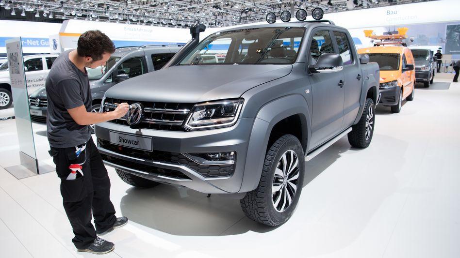 VW Amarok: Mit diesem Modell will VW eher in Europa punkten. Ein Joint Venture in China für das Segment der leichten Nutzfahrzeuge ist für VW dennoch ein sehr wichtiger Schritt. Auch über einen Börsengang der Sparte wird spekuliert