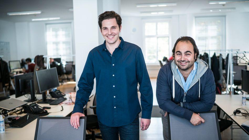 Künftig keine Co-CEOs mehr: Auto1-Mitgründer Christian Bertermann und Hakan Koç