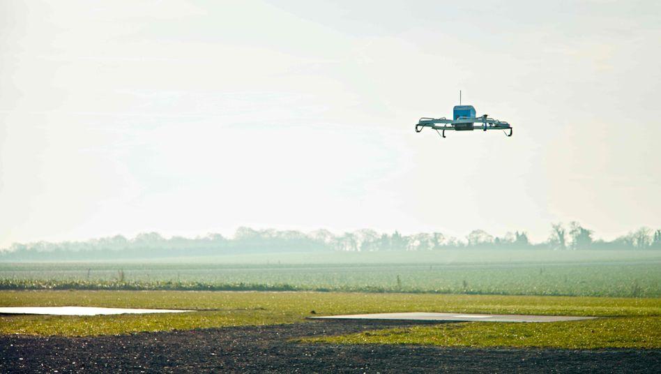 Testgelände: Amazons Drohnen starten von einem Bauernhof bei Cambridge