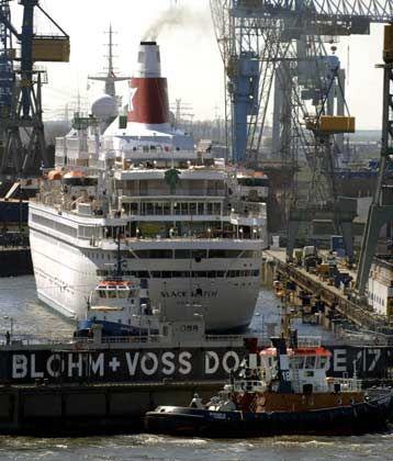 Verkauft: Die Hamburger Werft Blohm + Voss ging an ein arabisches Schiffbauunternehmen