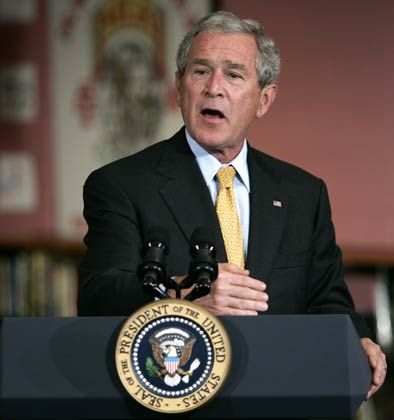 Zinsen fünf Jahre einfrieren:US-Präsident Bush