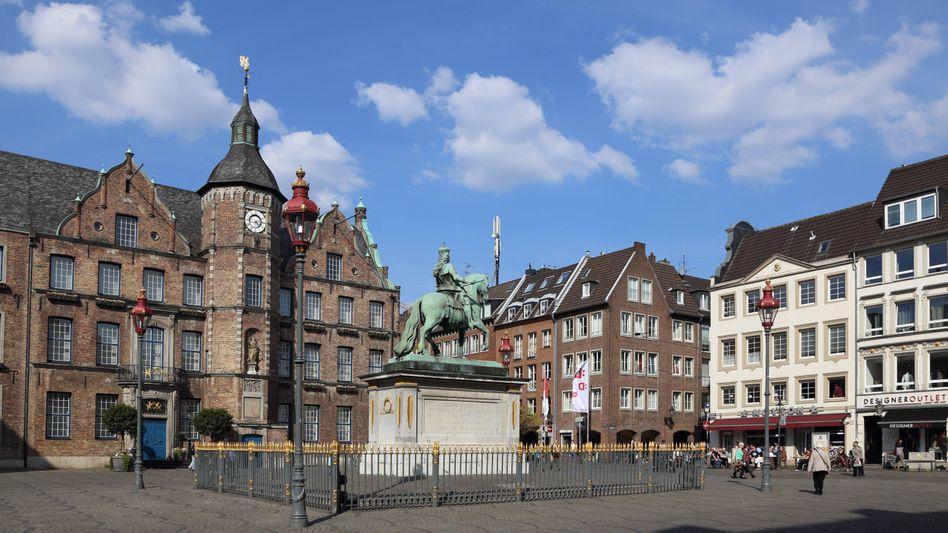 Düsseldorfer Altstadt: Düsseldorf war offenbar das Ziel der Terroristen