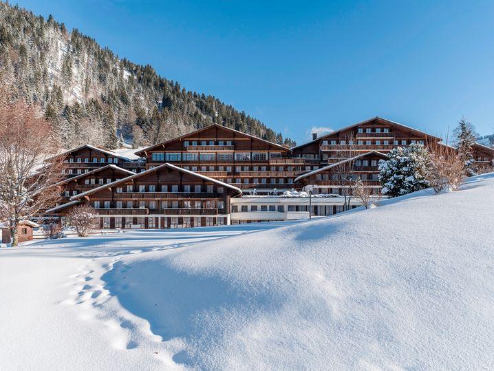 Stilvoll runterkommen in den Schweizer Bergen.