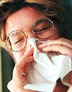 Lästige Begeliterscheinung: Die Nase ist zu