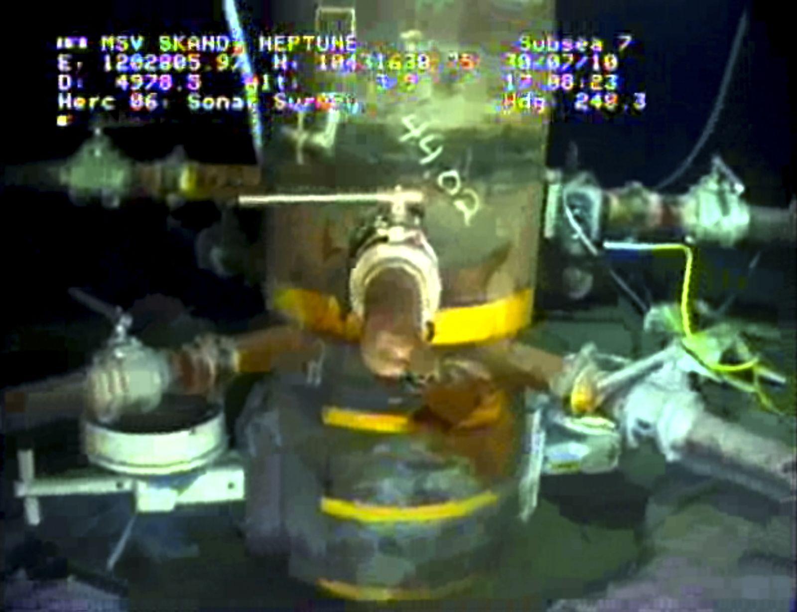 BP / Ölpest / Bohrloch