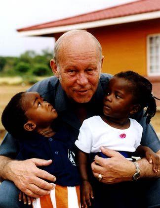 Helmut Kutin wurde am 4. Oktober 1941 in Bozen als fünftes Kind eines Rechtsanwalts geboren. Kurz hintereinander starben seine Mutter und seine älteste Schwester; sein Vater verlor aufgrund der politischen Situation die Staatsbürgerschaft. Die Familie wurde auseinandergerissen und Kutin kam 1953 in das erste SOS-Kinderdorf der Welt nach Imst in Tirol. 1963 legte Kutin das Abitur ab und studierte Volkswirtschaft in Innsbruck. 1967 begann er auf Wunsch des SOS-Kinderdorf-Gründers Hermann Gmeiner mit dem Aufbau des ersten vietnamesischen Kinderdorfs - wofür er mitten im Krieg ein komplettes Set Häuser per Schiff nach Saigon brachte. 1971 wurde Kutin zum Asien-Repräsentanten ernannt und baute binnen zehn Jahren mehr als 50 Kinderdörfer und weitere 50 Zusatzeinrichtungen wie Kindergärten, Schulen und Krankenhäuser auf. Seit 1985 amtiert er als Präsident des Dachverbandes SOS-Kinderdorf International.