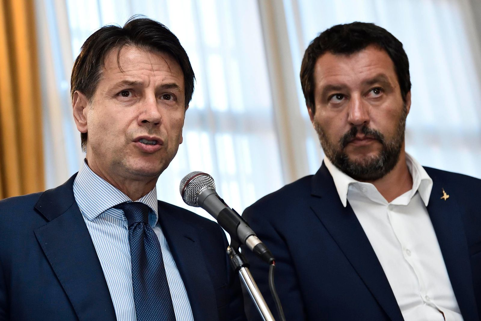 Giuseppe Conte/ Matteo Salvini