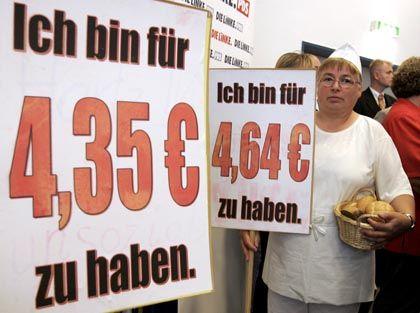 Kampagne für Mindestlöhne: Gutes Geld für gute Arbeit?