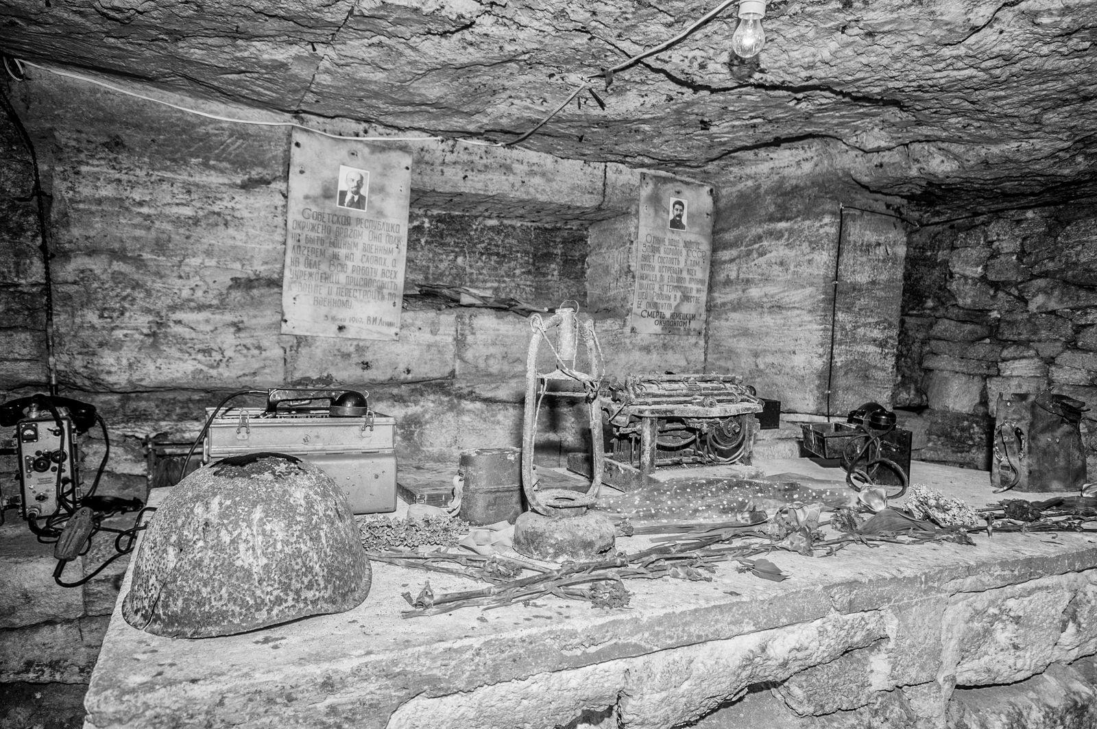 EINMALIGE VERWENDUNG Old Catacombs Odessa