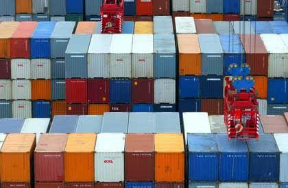 Der Export trägt das Wirtschaftswachstum in Deutschland