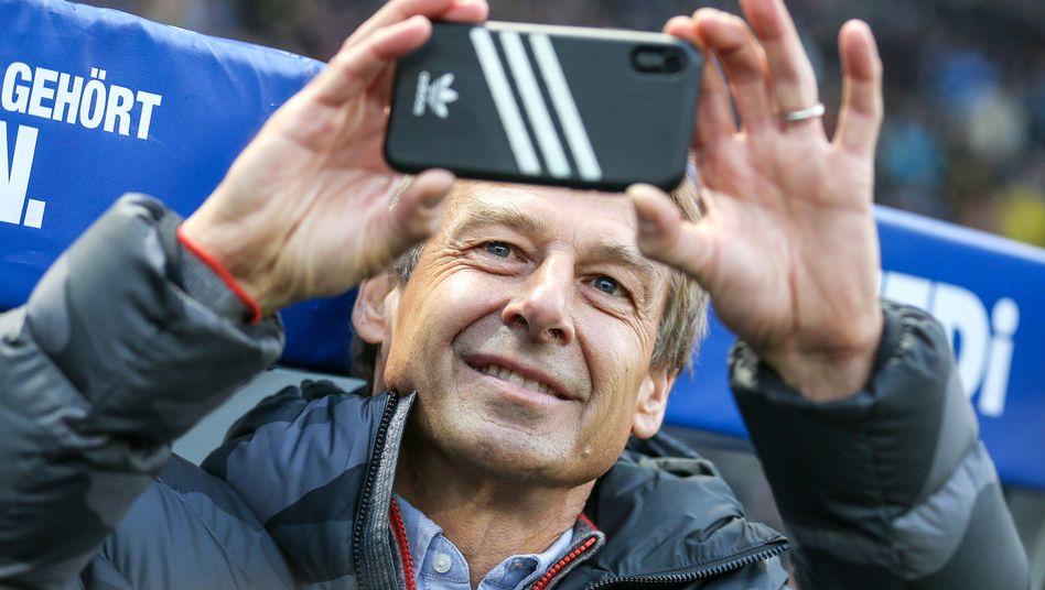 Jürgen Klinsmann: Abschied als Hertha-Cheftrainer