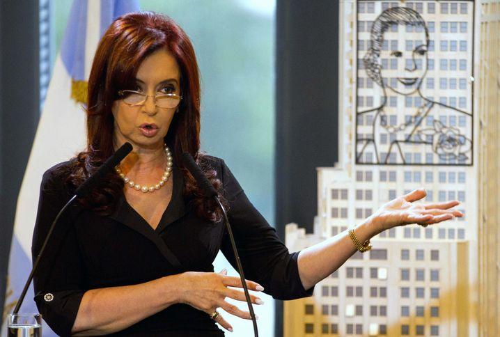 Vorbild Evita Peron: Argentiniens Präsidentin Cristina Fernández de Kirchner