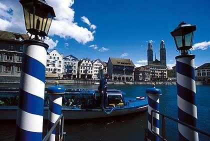 Zürich: In der Finanzmetropole hat die Dresdner Bank Quartier bezogen
