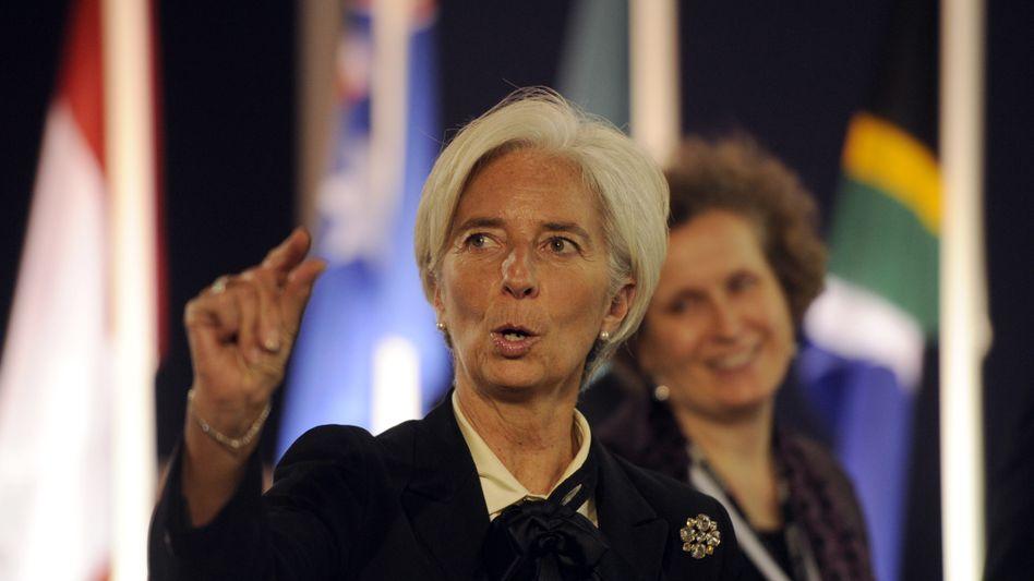 IWF-Chefin Christine Lagarde: Der IWF soll künftig kurzfristige Liquiditätskredite ausgeben