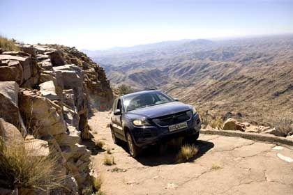 Testfahrt: In Gluthitze hoch auf die Berge