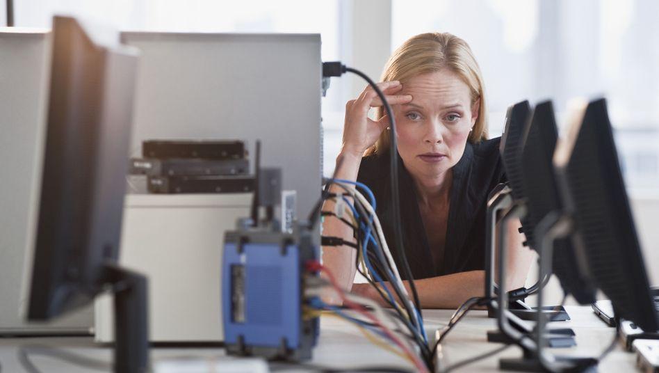 Verloren im Firmen-Netzwerk: Zu den größten Defiziten zählt laut der NetFed-Studie die mangelnde Übersichtlichkeit in Intranets