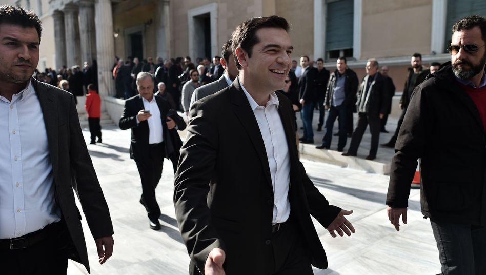 Alexis Tsipras: Der Syriza-Chef ist Favorit für das Amt des nächsten Regierungschefs in Griechenland