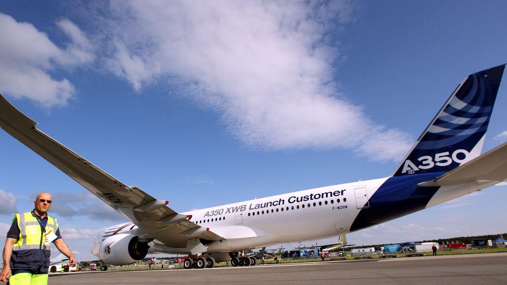 Airbus gegen Boeing: Der A350 auf der ILA