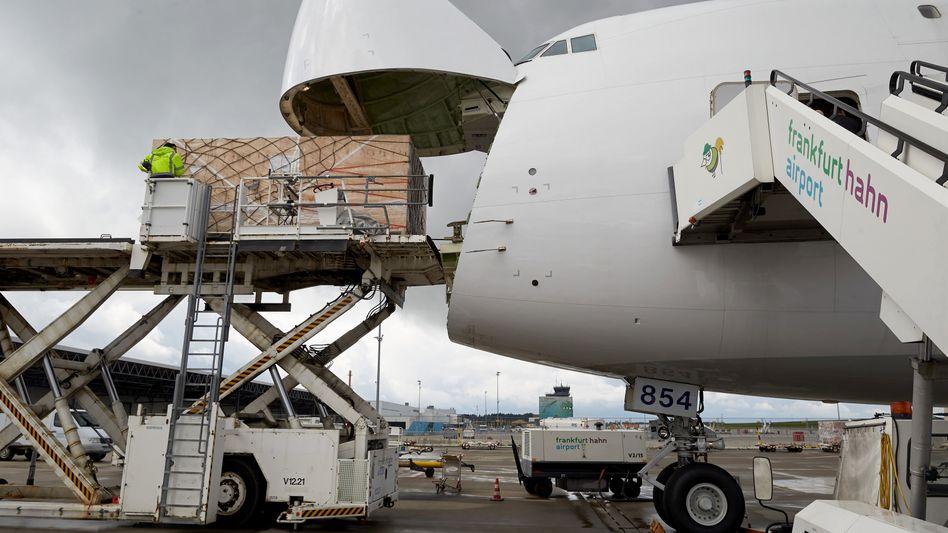 Rettendes Frachtgeschäft in der Corona-Krise: Der Flughafen Hahn besitzt eine Nachtflugerlaubnis und ist damit besonders für Logistikfirmen interessant