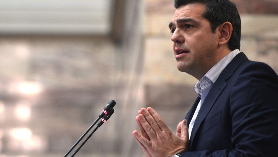 Alexis Tsipras: Der griechische Premier hatte mit einem EU-Sondergipfel gedroht, sollte keine Einigung zustande kommen
