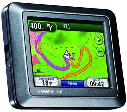 Garmin Nüvi 550: Um das Gerät draußen zu nutzen , braucht man eine zusätzliche topografische Karte