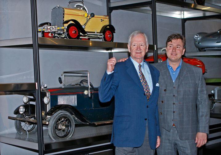 Volkswagen-Chef Peter Daniell Porsche (r., mit Vater Hans-Peter Porsche): Kulturwandel endlich geglückt