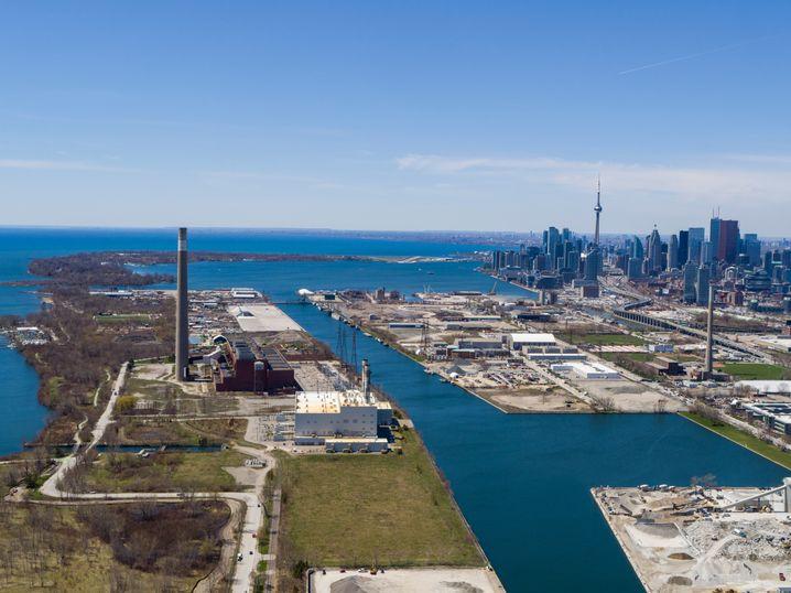 Das ehemalige Hafengebiet von Toronto heute