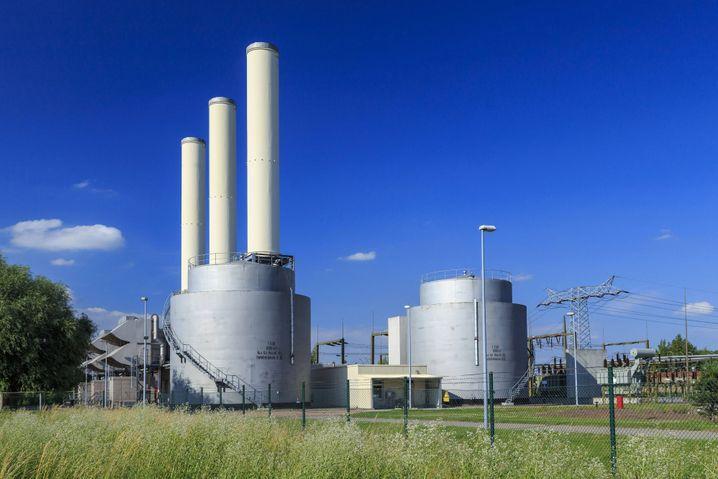 Reserve-Kraftwerk in Großkayna (Sachsen-Anhalt)