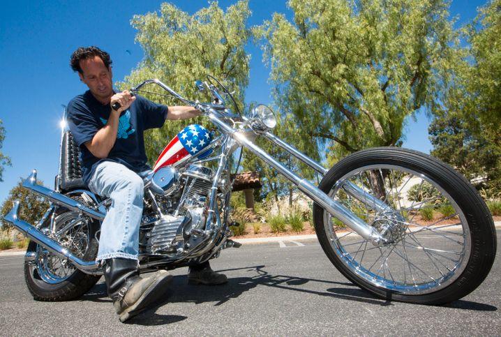 Laut und teuer: Harley Davidson