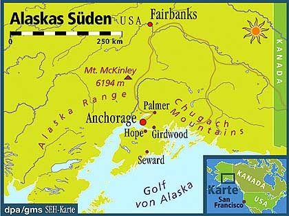 Alaska: Land der Extreme hoch im Norden