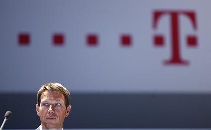"""Telekom-Chef Obermann: """"Die Zahlen des zweiten Quartals stimmen uns zuversichtlich für das Gesamtjahr"""""""